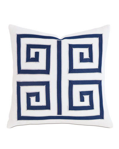 Watermill Indigo Decorative Pillow, 18