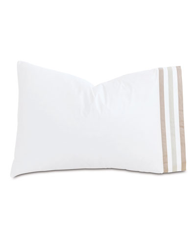 Watermill Taupe Queen Pillowcase