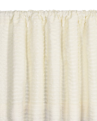 Yearling Pearl Rod Pocket Curtain Panel, 96