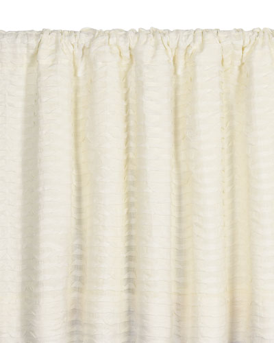 Yearling Pearl Rod Pocket Curtain Panel, 108
