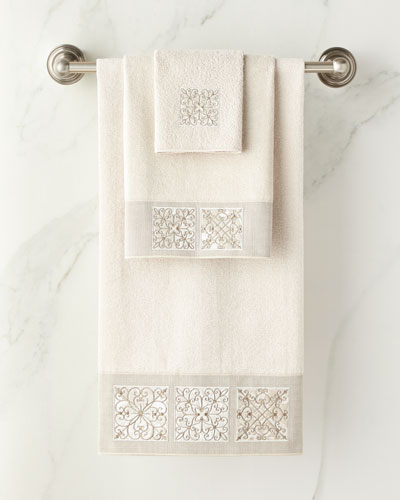 Ironwork Bath Towel