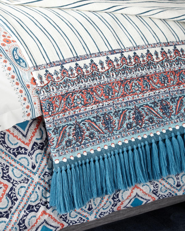 Cataka Coral Throw Blanket
