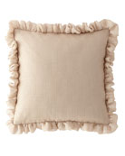 Odette Boutique Pillow with Ruffles