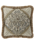 Delany Boutique Pillow with Brush Fringe
