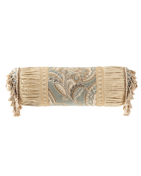 Dian Austin Couture Home Willette Neck Roll Pillow