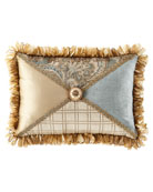 Dian Austin Couture Home Willette Patched Pillow with