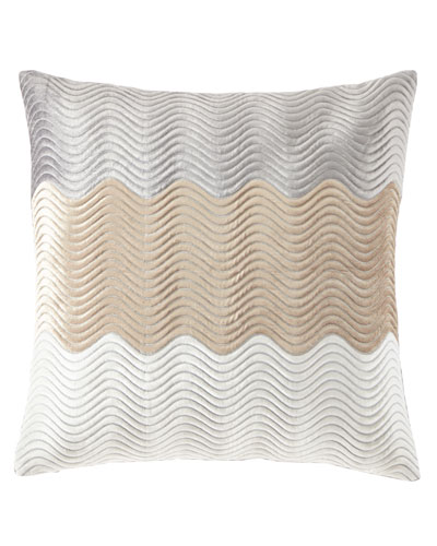 Velvet Wave Pillow, 22