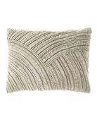 Pine Cone Hill Goa Natural Decorative Pillow, 16