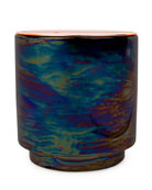 Incense & Smoke Iridescent Ceramic Candle, 17 oz./482g