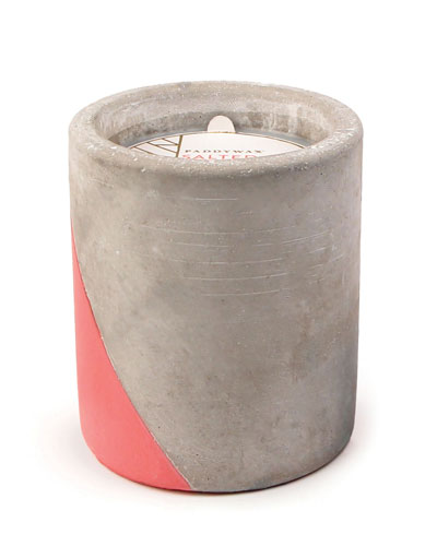 Salted Grapfruit Large Concrete Candle, 12 oz./340g
