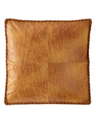 Dian Austin Couture Home Hamaden Boxed Faux-Leather European