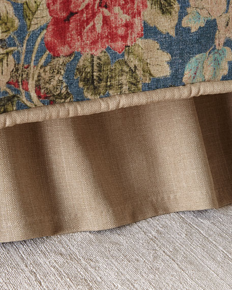 Sherry Kline Home After Glow King Ruffled Dust Skirt
