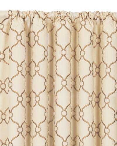 Theodore Rod Pocket Curtain Panel, 108
