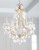 White Quartz Chandelier