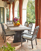 Pair of Gabrielle Armless Dining Chairs