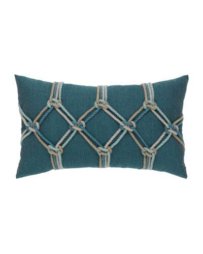 Lagoon Rope Lumbar Pillow, 12