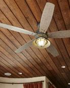 Portico Patio Fan, Brown