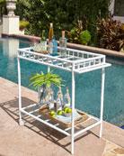 Bamboo Bar Cart