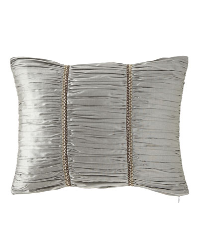 Rockwell Silk Boudoir Pillow, 14
