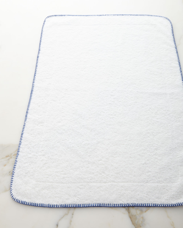 Whipstitch Tub Mat