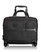 4-Wheel Deluxe Laptop Case, Black