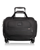 4-Wheeled Compact Duffel Bag Luggage, Black