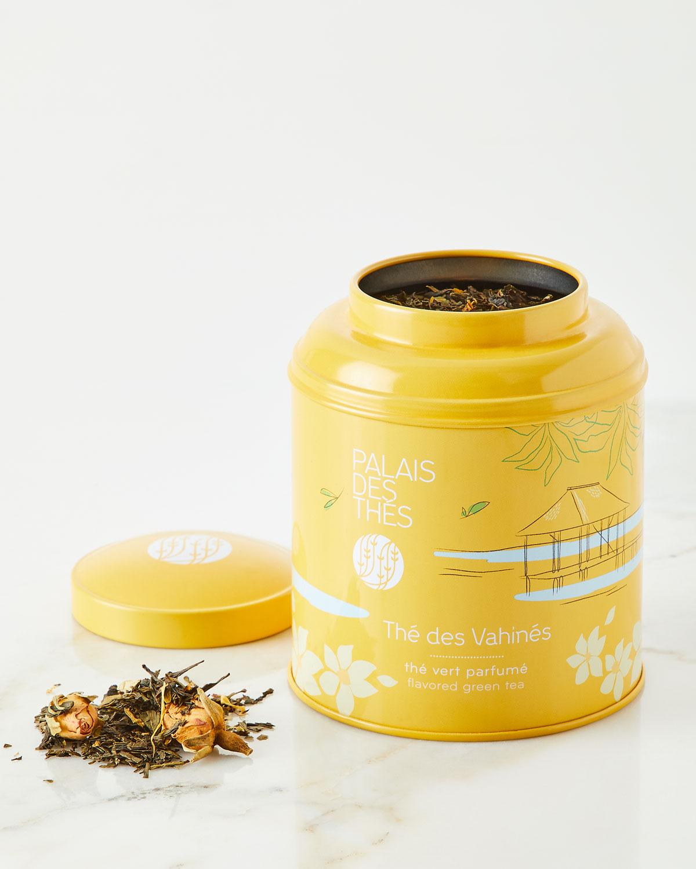 Thé des Vahinés Tea - Green Tea Vanilla, Almond, Rose