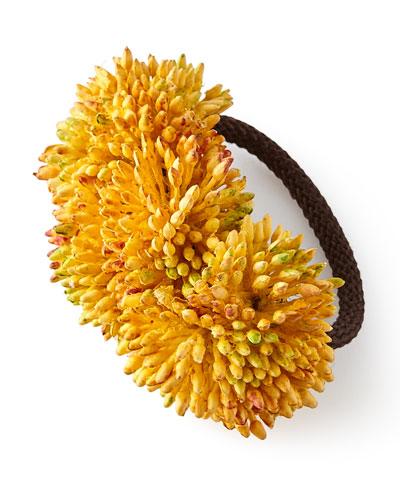 Autumn Sedum Napkin Ring