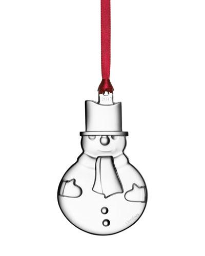 2017 Annual Snowman Ornament