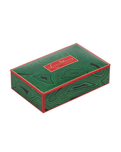 Malachite 12-Piece Assorted Chocolate Truffle Tin