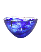 Contrast Small Bowl, Blue