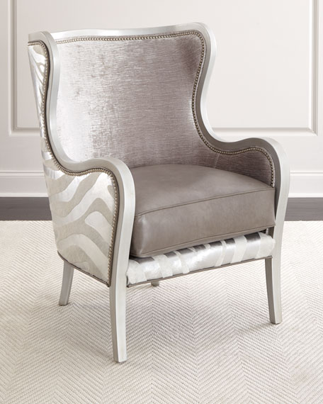 Massoud Diana Wing Chair