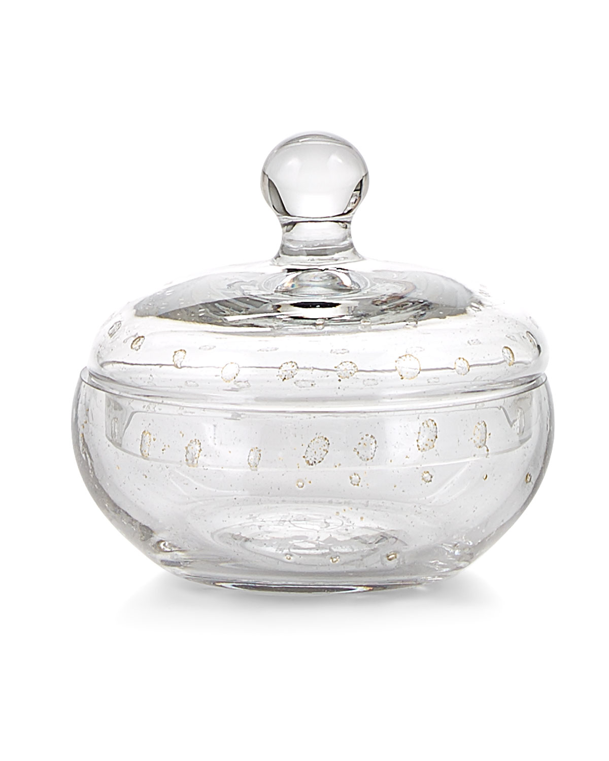 Labrazel Clothing CONTESSA CLEAR GLASS CANISTER