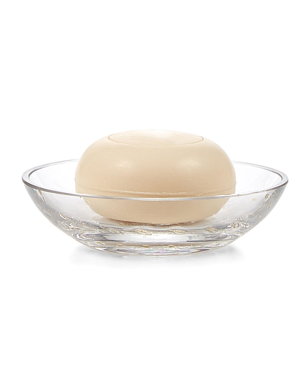 Labrazel Dinnerwares CONTESSA CLEAR GLASS SOAP DISH