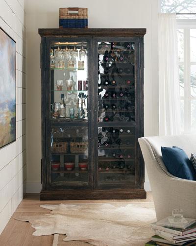Ethan Wine & Bar Cabinet