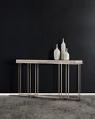 Georgina Onyx Top Console Table