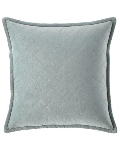 Elite Velvet Diamond Pillow, 18