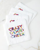 Crazy Good Cheer Cocktail Napkins