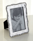 "Giftables Organic Pearl Frame, 4"" x 6"""