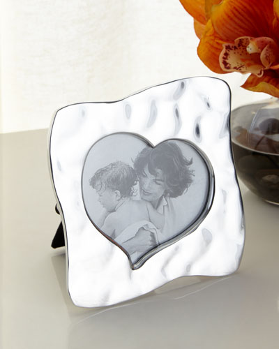 Giftables Curved Heart Picture Frame, 5