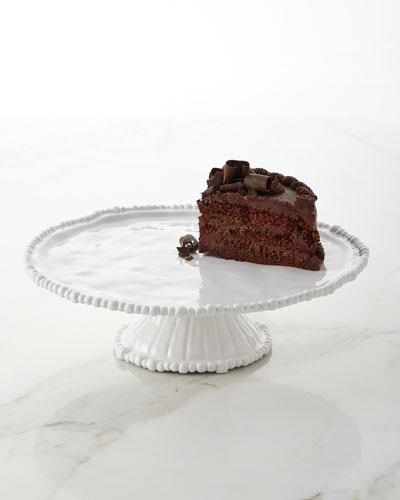 Vida Alegria Pedestal Cake Plate