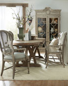 Lilith Trestle Dining Table