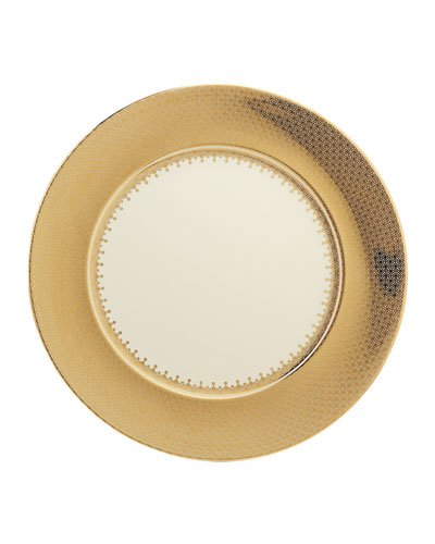 Gold Lace Charger Plate