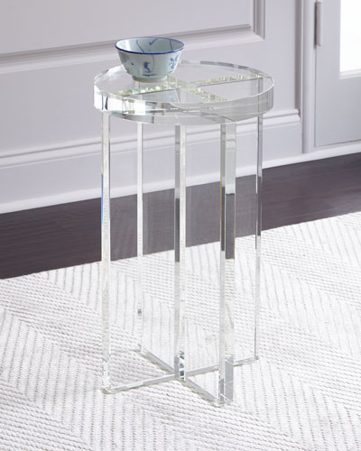 Duke Crystal Side Table