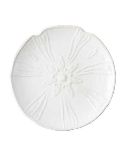 Sealife Whitewash Sea Urchin Dessert Plate