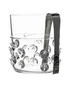 Florence Ice Bucket with Tongs