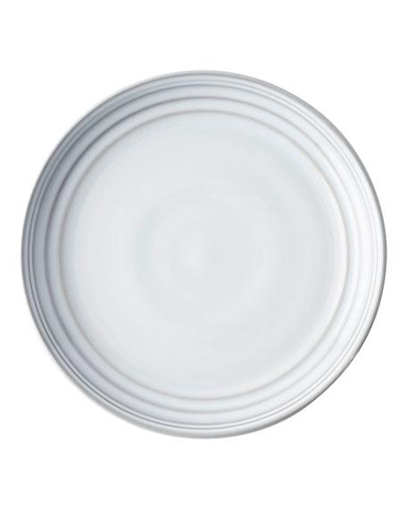 Juliska Bilbao White Truffle Dessert Plate