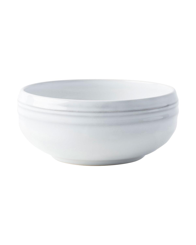 Juliska Dinnerwares BILBAO WHITE TRUFFLE CEREAL BOWL