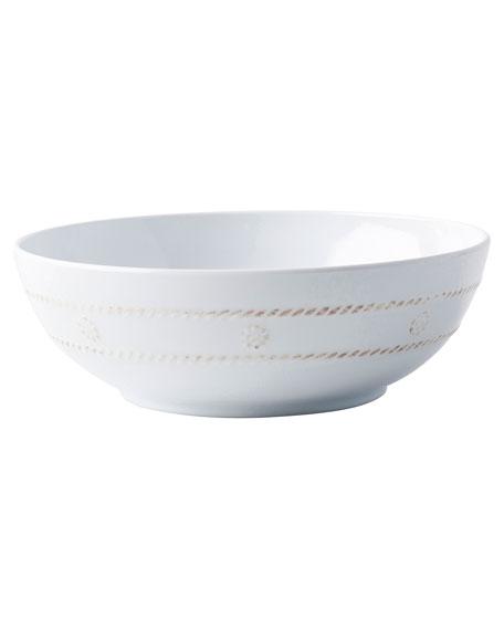 Juliska Berry & Thread Melamine Whitewash Coupe Bowl