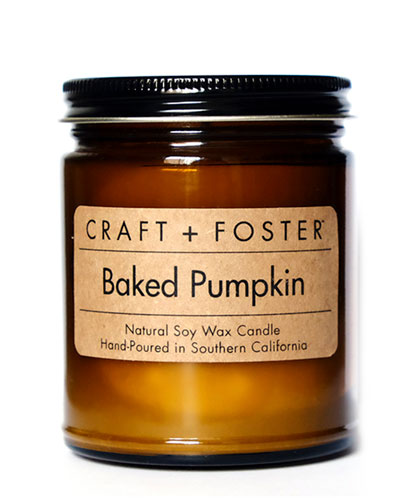 Limited Edition Baked Pumpkin Candle, 8.0 oz./ 220g